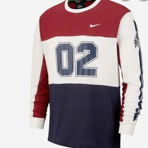 Nike SB Gfx long sleeve mesh skate tee